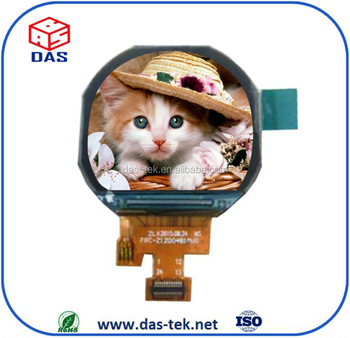 2.1 Inch Circular Tft Module 320x320 Lcd Display With Capacitive ...
