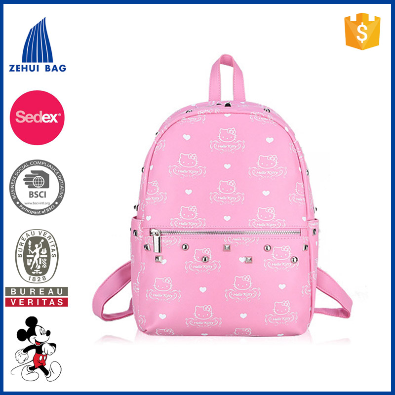 4ce2ec2d9be6 Nice Hello Kitty Backpack Waterproof Bag For Girls - Buy Nice Hello ...