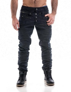 Royal wolf denim jeans manufacturer 2017 Italian style European new style men slim fit black coated jeans