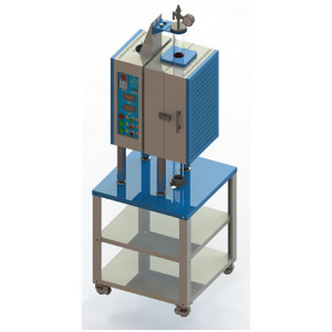 1200 degrees vertical muffle furnace laboratory with quartz tube vacuum machine