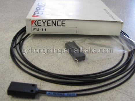 New KEYENCE FU-40 Reflective Fiber Optic Sensor