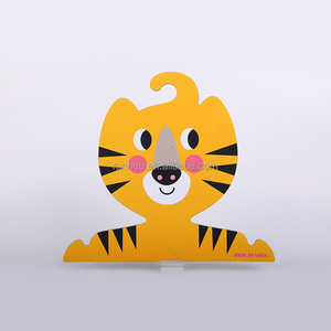 Cute design pet clothing hanger paper animal clothing- rack