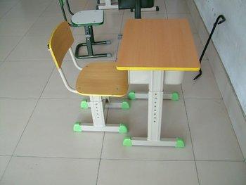Neu Moderne Einstellbare Holz Klassen Einzelnen Schule Schreibtisch