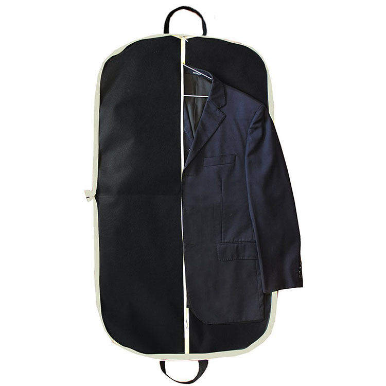 Wholesale OEM&ODM dustproof   Non woven Reusable Foldable Non Woven Clothes Garment Suit Cover