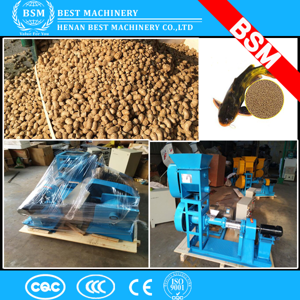 2017 lowest price hot sale fish feed pellet extruder