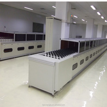 LED bulb agiing line and pcb assembly line equipment