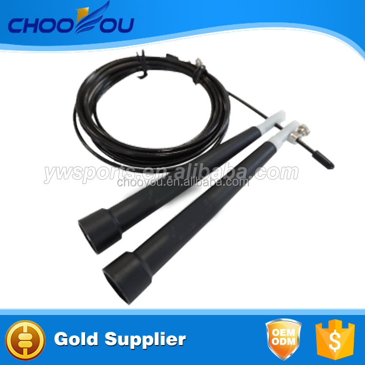 Black Speed Skipping Jump Rope