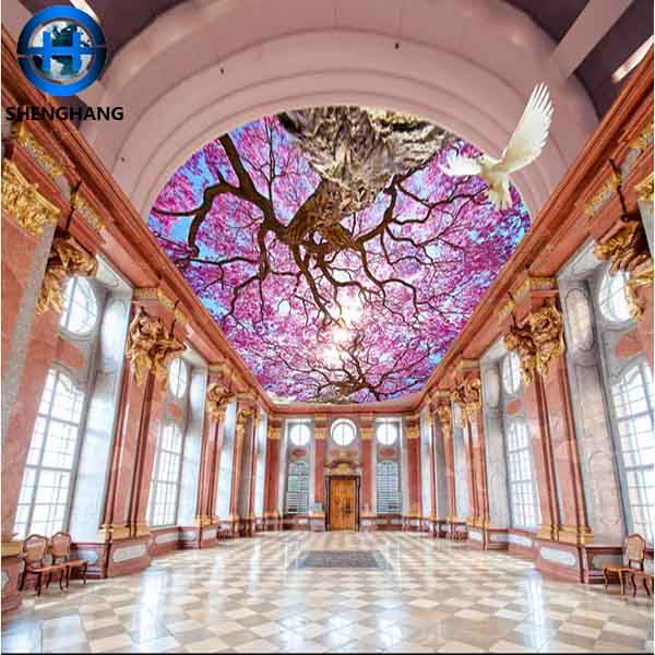 Self Adhesive Ceiling Wall Paper 3d Wooden Color False Ceiling Design Pvc Wall Sticker Buy 3d Ceiling Wallpaper Wooden Color False Ceiling