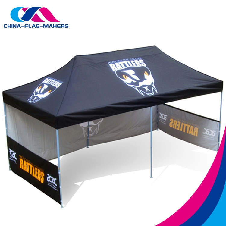 Custom Trade Advertising Display Canopy Tent 10x20 Manufacture ...