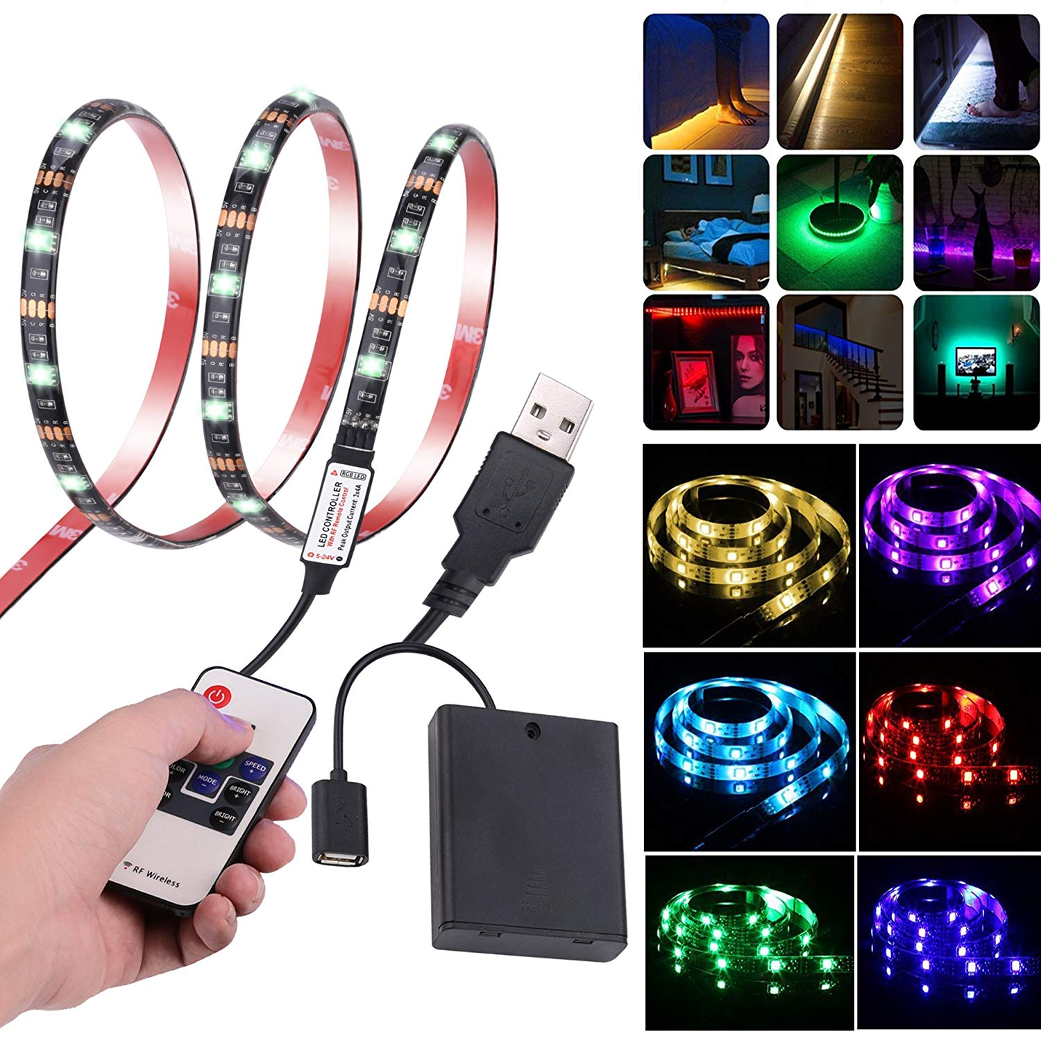Battery Ed Led Rope Find