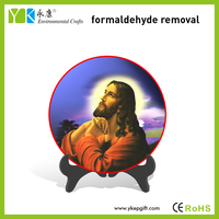 Hot selling plate activated carbon materials made 3d god picture of jesus christ