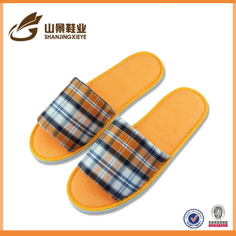 Comfortable Scottish Men Slipper Soft EVA Sole Bedroom Slipper