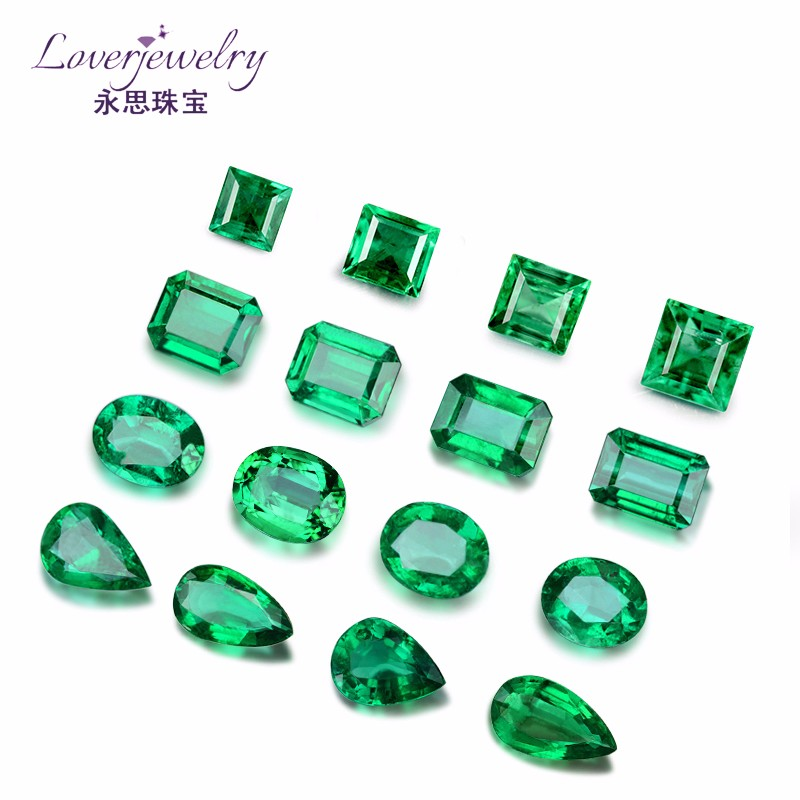 Superior quality classic south african emeralds