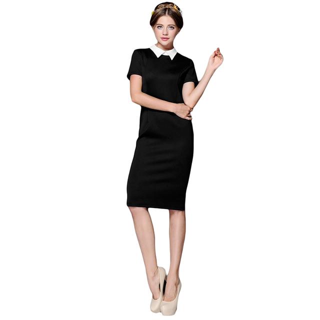 114fba929a Black Midi Bodycon Dress Short Sleeve Images - Black Dress Ideas