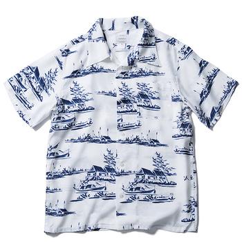 fc071b4e Hot Style Linen Cuban Collar Hawaiian Short Sleeve Shirt - Buy Linen ...