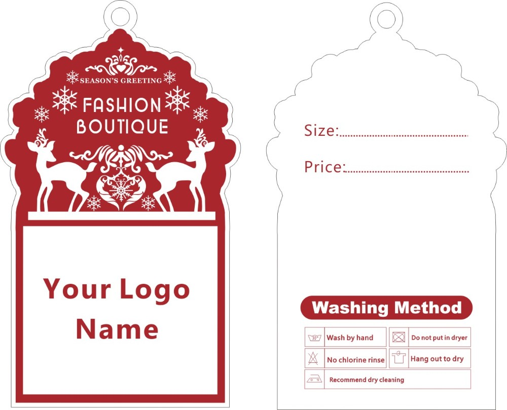 template for price tags - hang tag template promotion shop for promotional hang tag