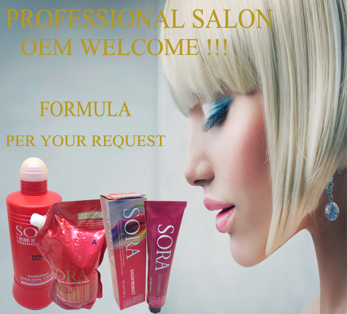 Professional Hair Color Cream For Salon Allergy Free Hair Dye