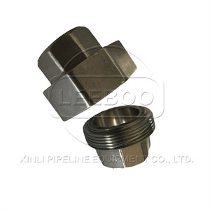 Pipe fitting flexible union rubber joint for European market