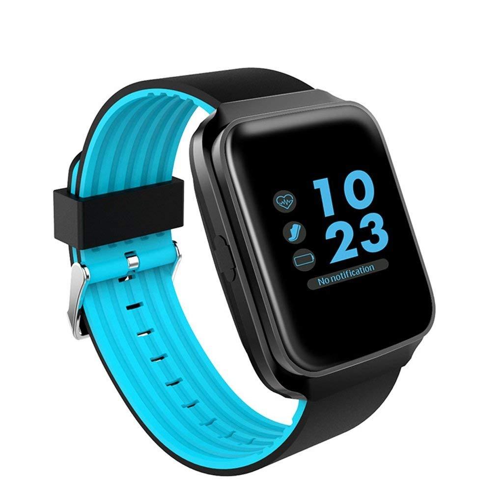 L&Y Smart Wrist Watch Phone Bracelet Smart Bracelet Activity Tracker Activity Track With Step Counter Waterproof IP68 GPS Tracker Watch Phone (Color : Blue)