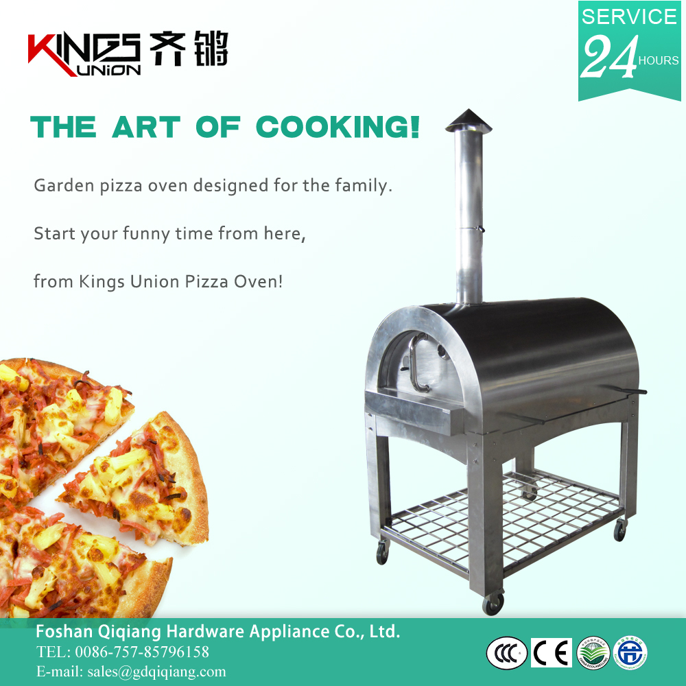 Outdoor And Indoor Wood Fired Pizza Oven Stainless Steel Dome ...