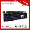 New arrival RGB led backlit cherry mx gaming keyboard mechanical metal pc keyboard