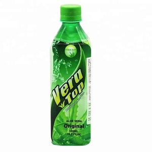 500ml Bottled original taste healthy aloe vera drink
