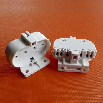 Plastic Material 2G11 lamp holder