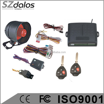 Octopus/Royal Bemaz one way remote car alarm with anti-hijack, Octopus technology car alarm system with high quality
