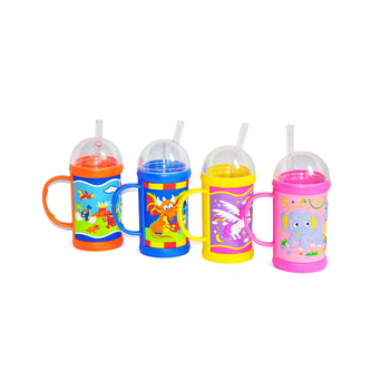 Hot selling silicone Children bottle