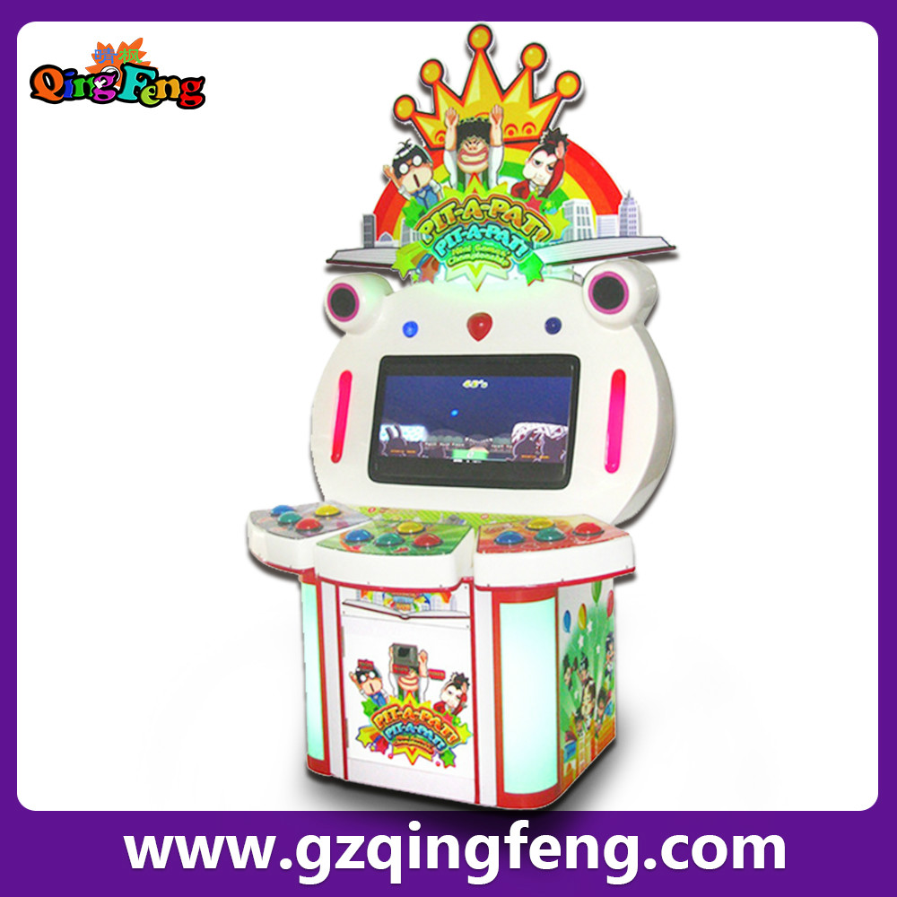 Qingfeng lottery amusement park gaming Hitting arcade game machine sale for kids ML-QF518-1