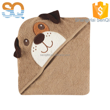 100% cotton Luvable Friends Animal Dog Hooded bath Towel