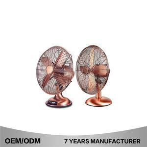 16 Inch 40Cm 3 As Blades Oscillating Strong Air Cooling Desk Fan