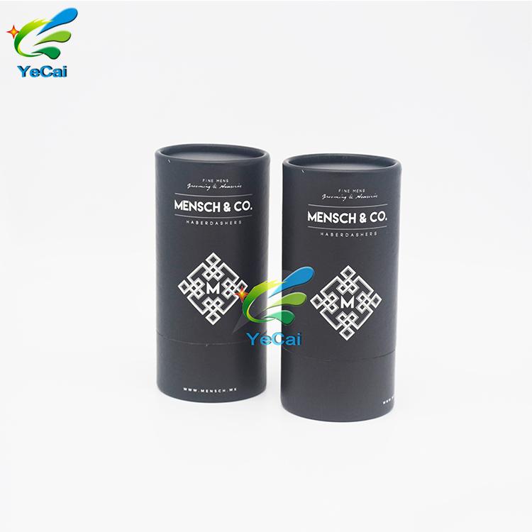Respetuoso del medio ambiente personalizado de moda flip top cilíndrico ronda tubo de cartón corrugado gafas cajas de embalaje
