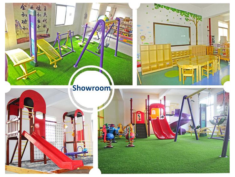 Height adjustablejt17 5901 preschool kindergarten six for Indoor gym equipment for preschool