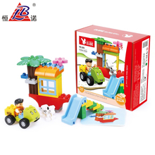 intelligent education diy building blocks toys