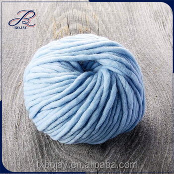 a4103176883 Yarn Wool Hand Spun Thick Thinner Merino Wool Extreme Knitting Blanket Big  Loop Cable Throw Chunky