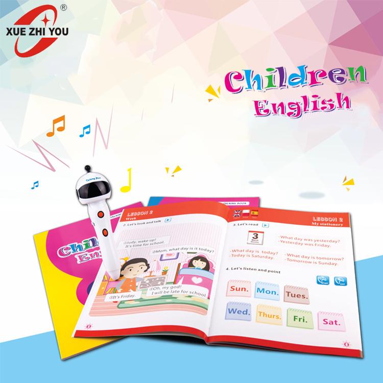 OEM Digital Pen For Children Learning EFL Smart Reading Talking Speaking Pen With English Sound Books