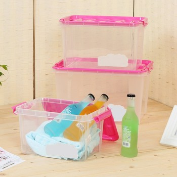 Hot Sales Recycling Gift Card Box Toys Transparent Storage Organizer
