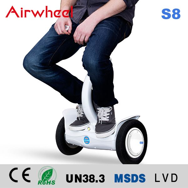 changzhou factory Innovation smart scooter Airwheel S8 two wheels self balancing scooter robot