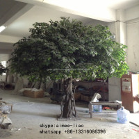 3m large outdoor artificial banyan bonsai tree