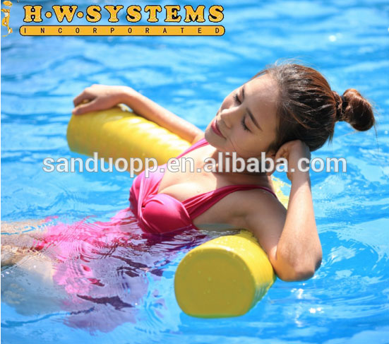 "5-1/2""*46"" Vinyl Coated Foam swimming pool noodles water pool noodle manufacturer company swimming pool noodle"