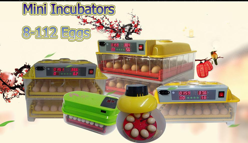 WQ-96 Рождественская Акция! Обновленный CE маркированный автоматический 96 яиц автоматический цифровой инкубатор (whatsapp:+ 86-17853481966)