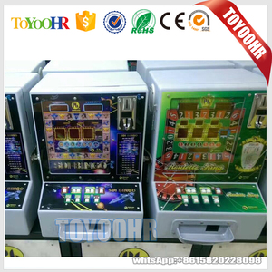 Hot sale Africa Coin Fruit Slot Game Machine Fruit Cocktail Led Coin Operated Gambling Machine