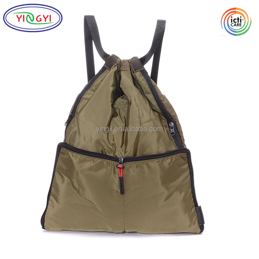 Drawstring Type 210d Polyester Sports Bags For Kids Boys Girls Waterproof School Bag Travel Bag Backpack Gym Swim Dance Hot Sale Exquisite In Workmanship