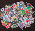 100pcs Fashion cool DIY Stickers fixed for Skateboard Laptop Luggage Snowboard Fridge Phone toy Styling home