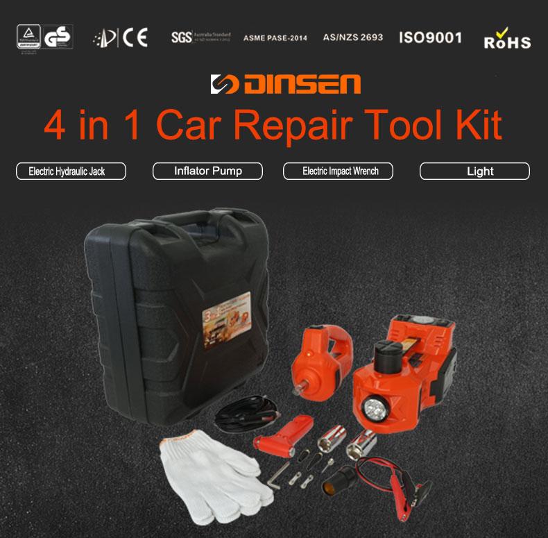 Auto reparatie apparatuur elektrische auto jack slagmoersleutel
