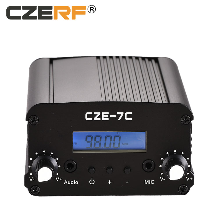 CZE-7C 7W fm transmitter for radio station user manual car mp3 player with fm transmitter antenna фото