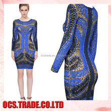 Best Selling a-line sexy ladies western wear evening dresses