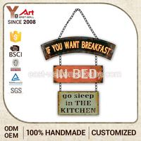 Opening Sale Quick Lead Tailored Craft Art Cast Iron Signs