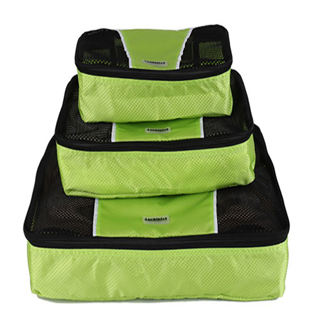 <strong>Travel</strong> Packing Cubes Set (3 Piece), Ideal for <strong>Travel</strong> and Closet Organizer